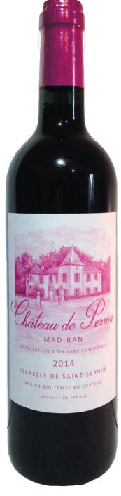 Chateau de Perron Madiran vin rouge
