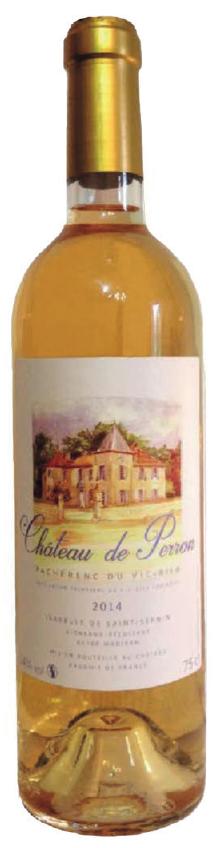 chateau de perron 2014 vin blanc pacherenc